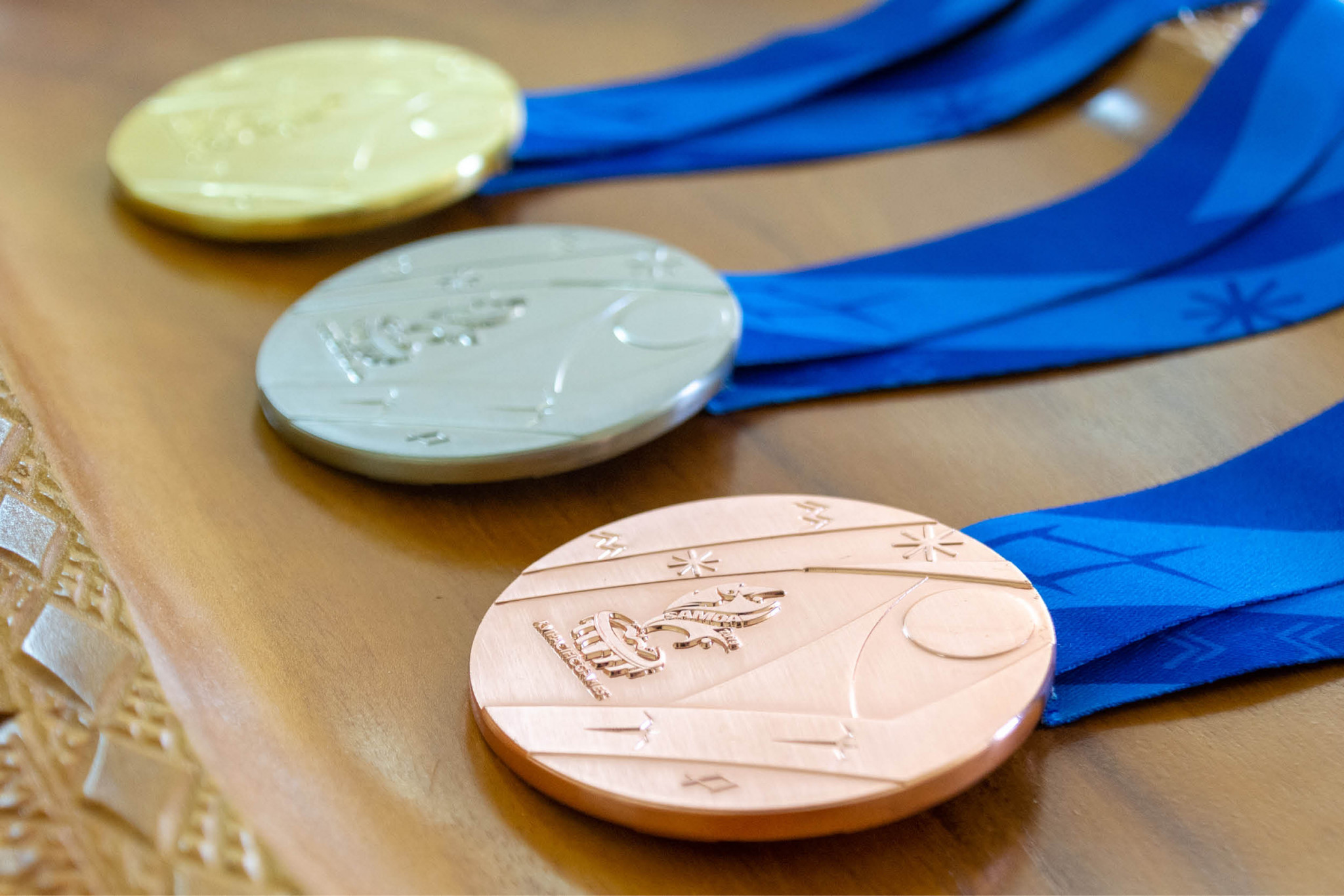 Medal designs revealed for Samoa 2019