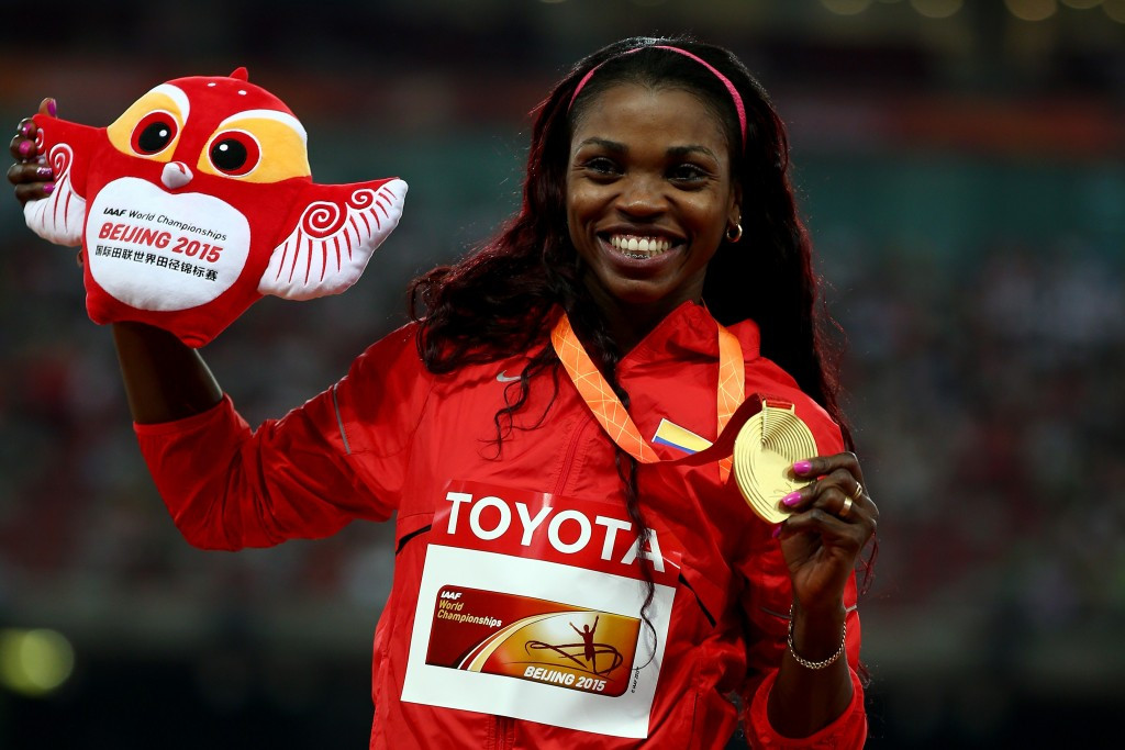 Colombian triple jumper Caterine Ibargüen has been nominated for the IAAF Athlete of the Year in the jumps category but it is unclear where the winners will receive their prizes following the cancellation of the IAAF Awards Gala