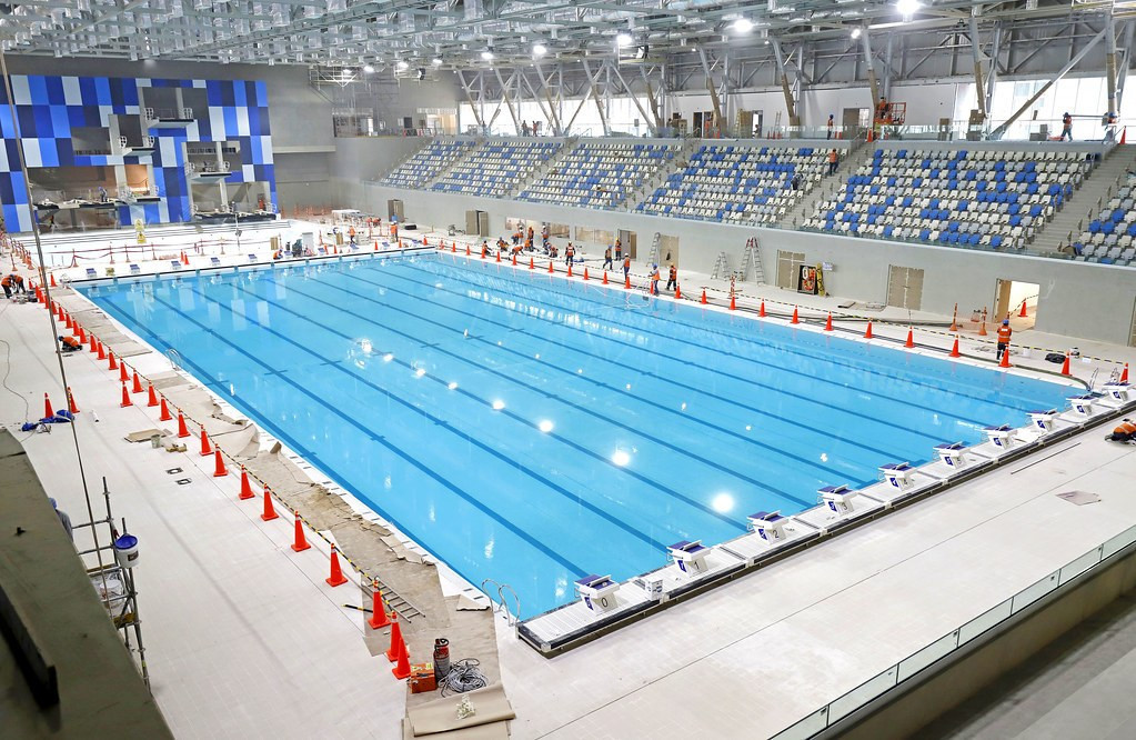 The Aquatics Centre in the VIDENA, built for the Pan and Parapan American Games in Lima, has been opened ©Lima 2019