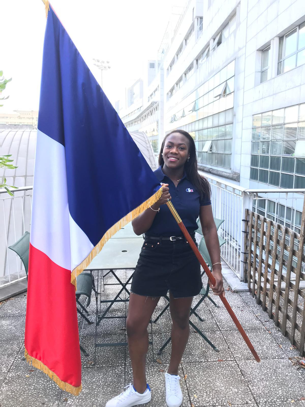 Triple world champion judoka Agbegnenou named French flag bearer at 2019 European Games