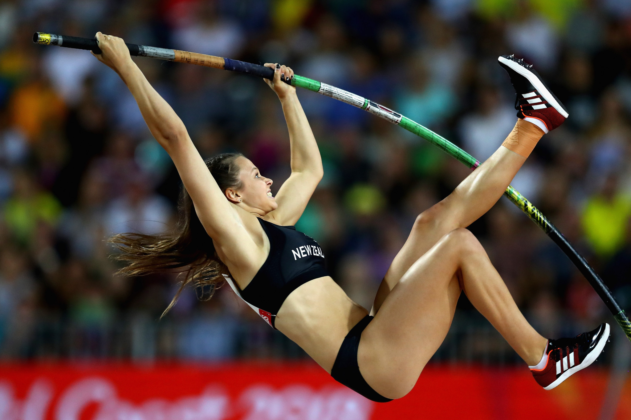 Rio 2016 Olympic pole vault bronze medallist Eliza McCartney had previously competed for New Zealand at a Summer Universiade ©Getty Images