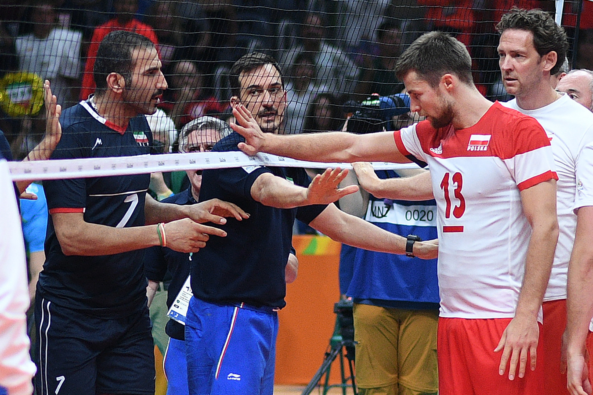 Michal Kubiak was a member of the Poland team that played against Iran in a highly-charged match during the Olympic volleyball tournament at Rio 2016 ©Getty Images