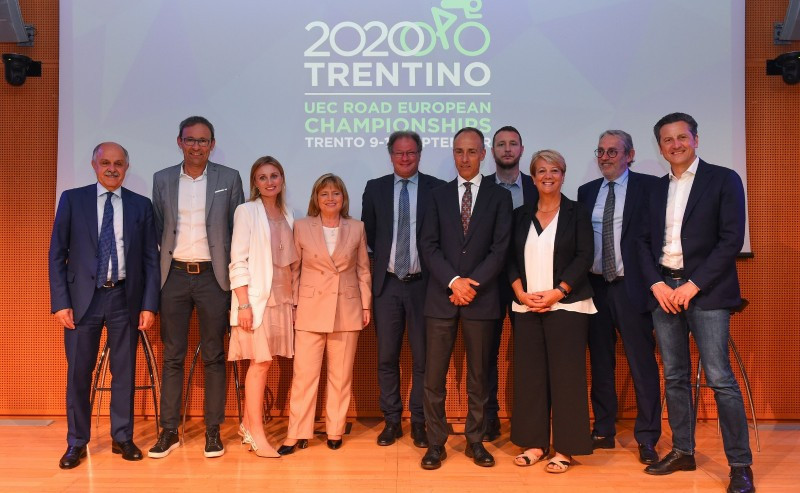 The Italian city of Trento has been announced as host of the 2020 edition of the European Cycling Union Road Championships ©UEC