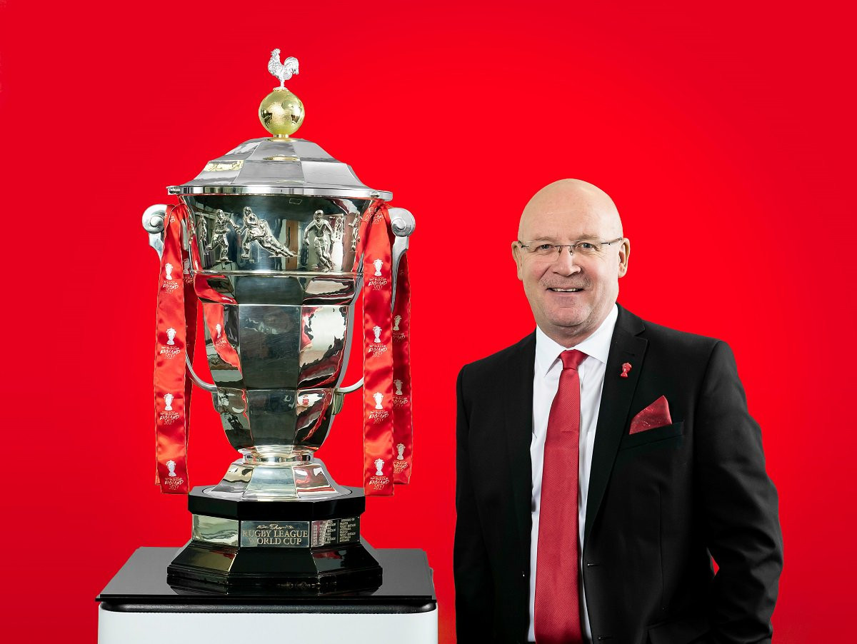Brindley announced as chairman of 2021 Rugby League World Cup Board