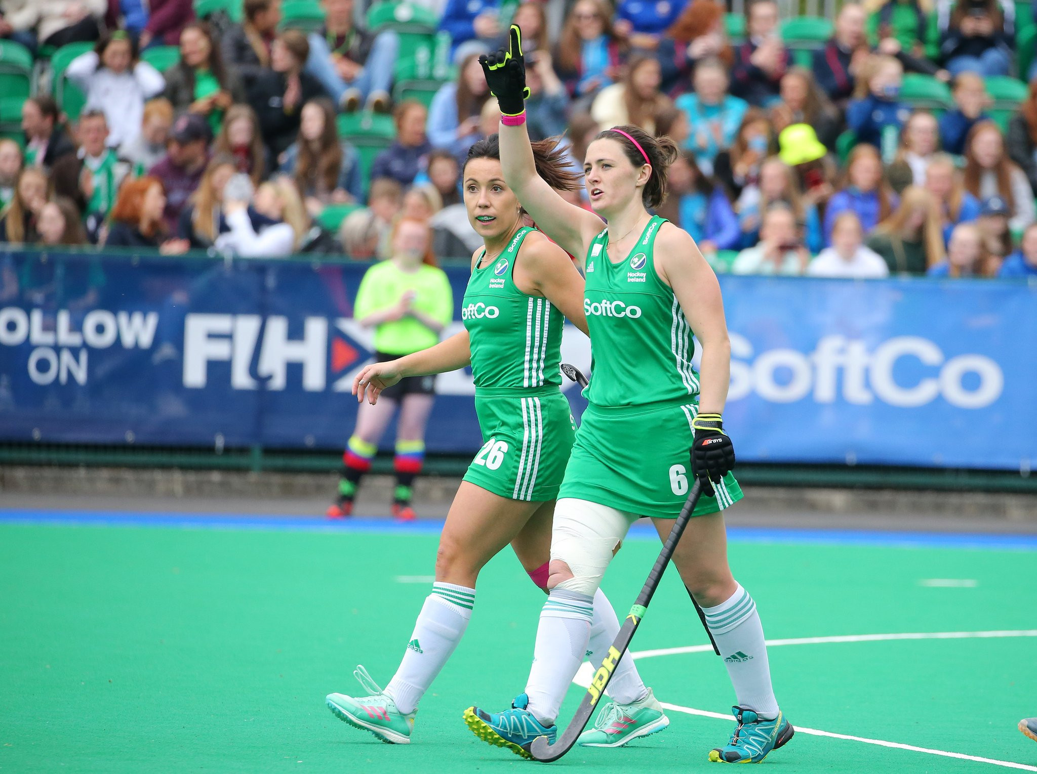 Hosts Ireland are through to the semi-finals of the FIH Series Finals in Banbridge after beating SIngapore 11-0 ©Twitter