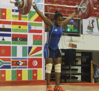 Balikis Otunla has tested positive for banned drugs for the second time in her career ©Twitter