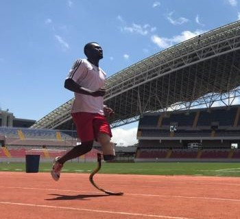 Costa Rican T64 sprinter Sherman Guity has been named Americas para 'Athlete of the Month' ©APC