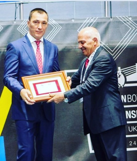 Ukraine's Volodymyr Prodyvus has cast further doubt on Interim President Mohamed Moustahsane's ability to lead AIBA ©EUBC
