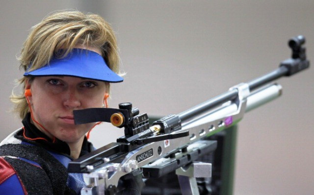 Veronica Vadovicova of Slovakia claimed her seventh gold medal of the IPC Shooting World Cup ©Getty Images