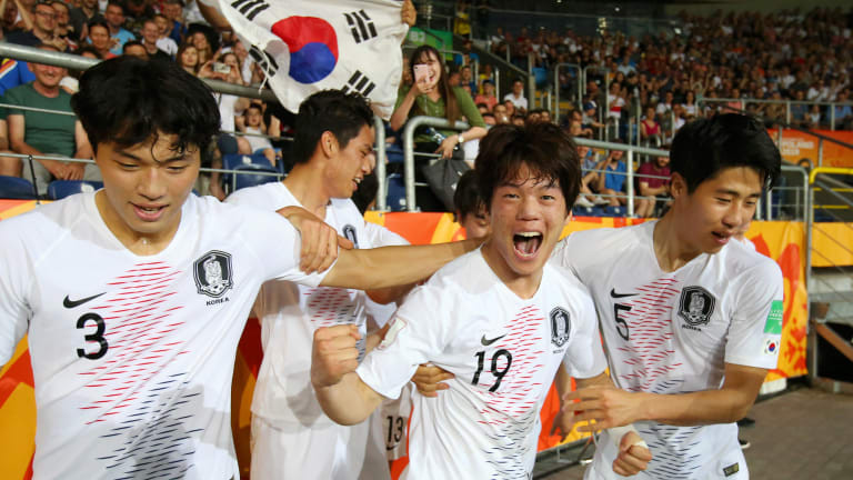 South Korea will face Ukraine in the final after beating Ecuador ©Getty Images