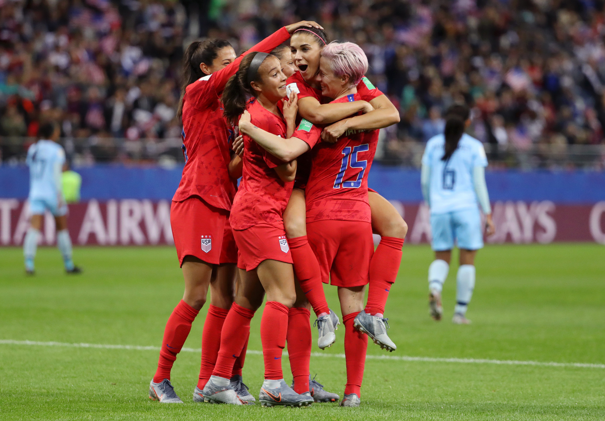 Their win was the biggest in FIFA Women's World Cup history ©Getty Images