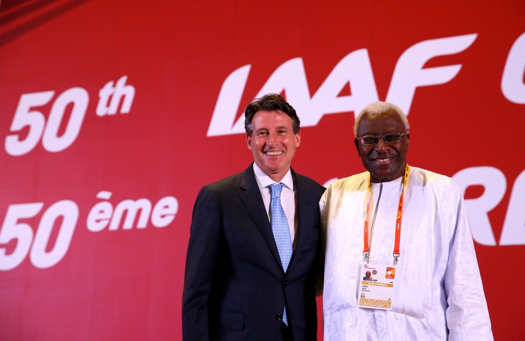 IAAF President Sebastian Coe has confirmed the organisation has cancelled the World Athletics Awards Gala following corruption allegations against his predecessor Lamine Diack ©Getty Images