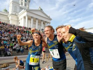 Sweden produce masterclass to win sprint relay at IOF World Cup