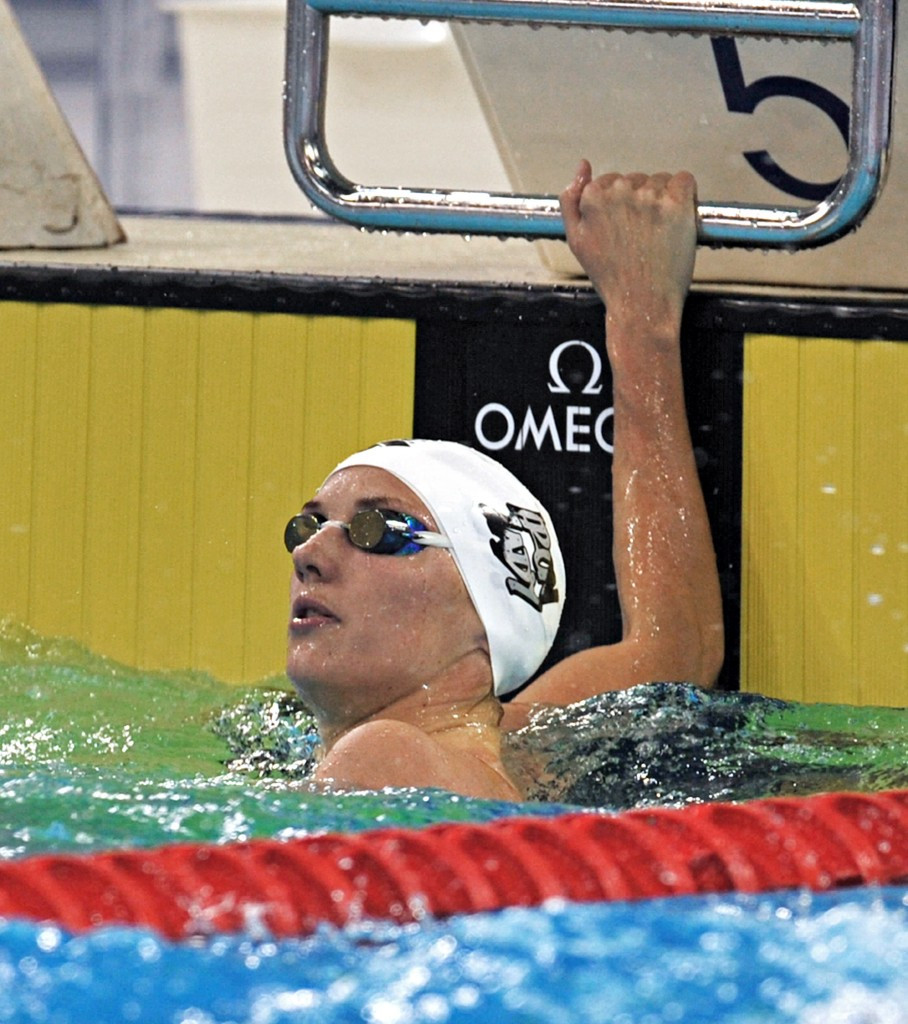 Hungary's Hosszú shows her class on opening day of FINA World Cup in Dubai