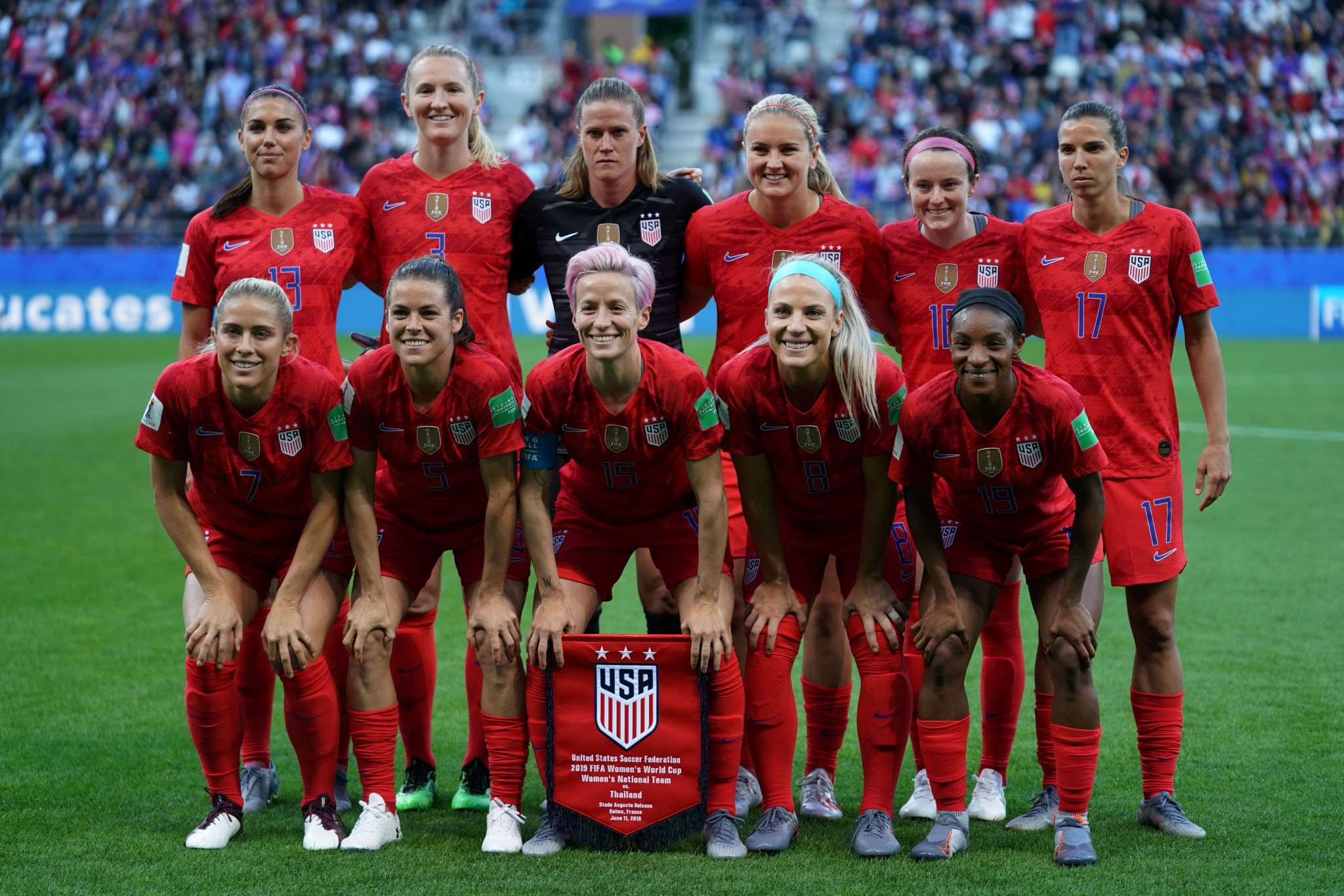 The United States are reigning Women's World Cup champions but LeBlanc feels more can be done ©Getty Images