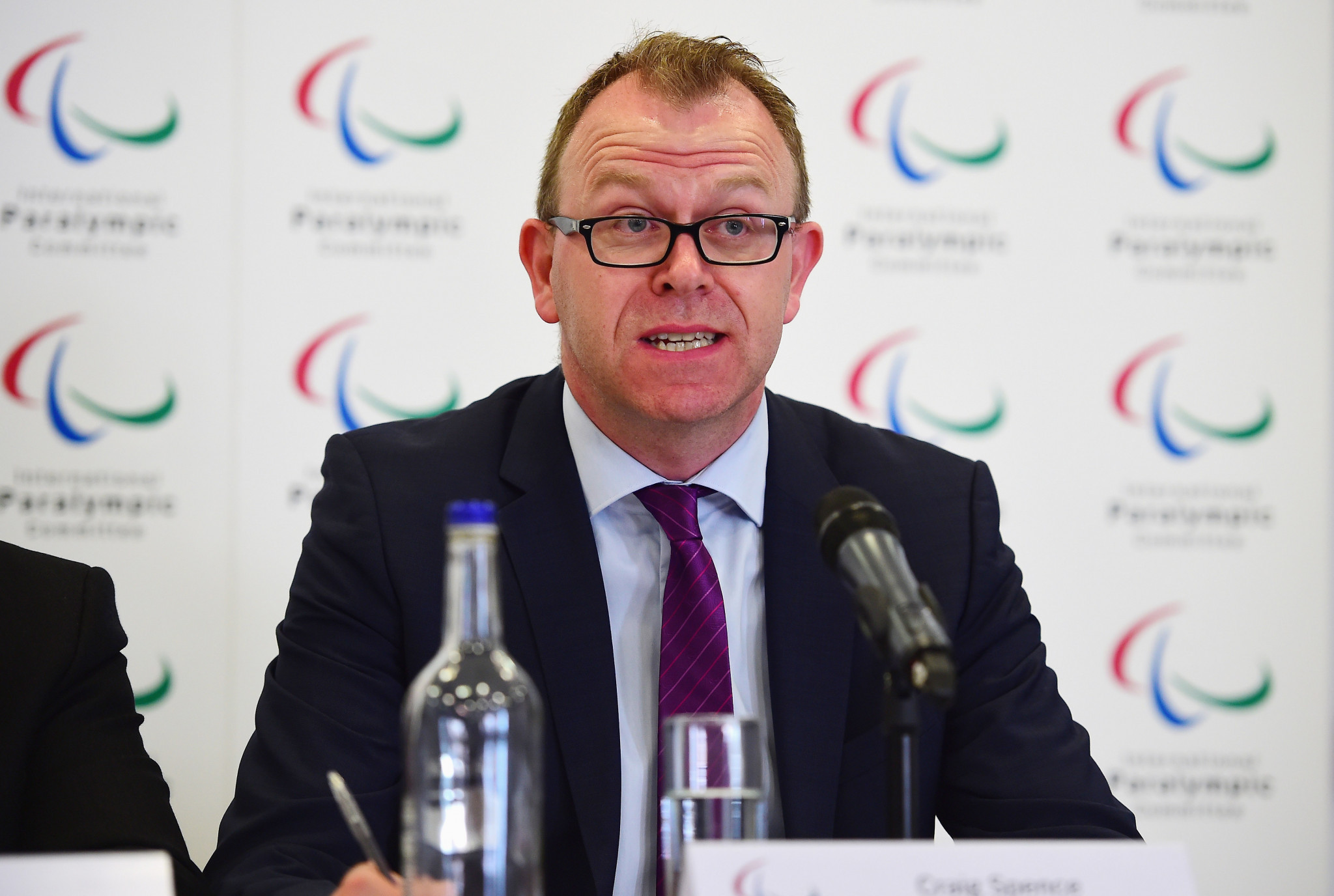 Craig Spence, the IPC's chief marketing and communications officer, said Getty Images has been a vital partner of the Paralympic Movement ©Getty Images