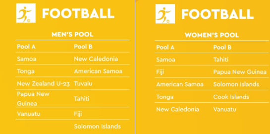 Eleven teams are set to compete in the men's competition with 10 involved in the women's tournament ©Samoa 2019