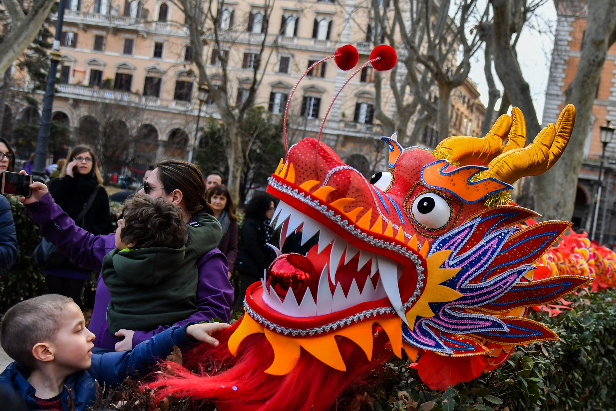 Chinese dragons are legendary creatures in the country's mythology ©Getty Images