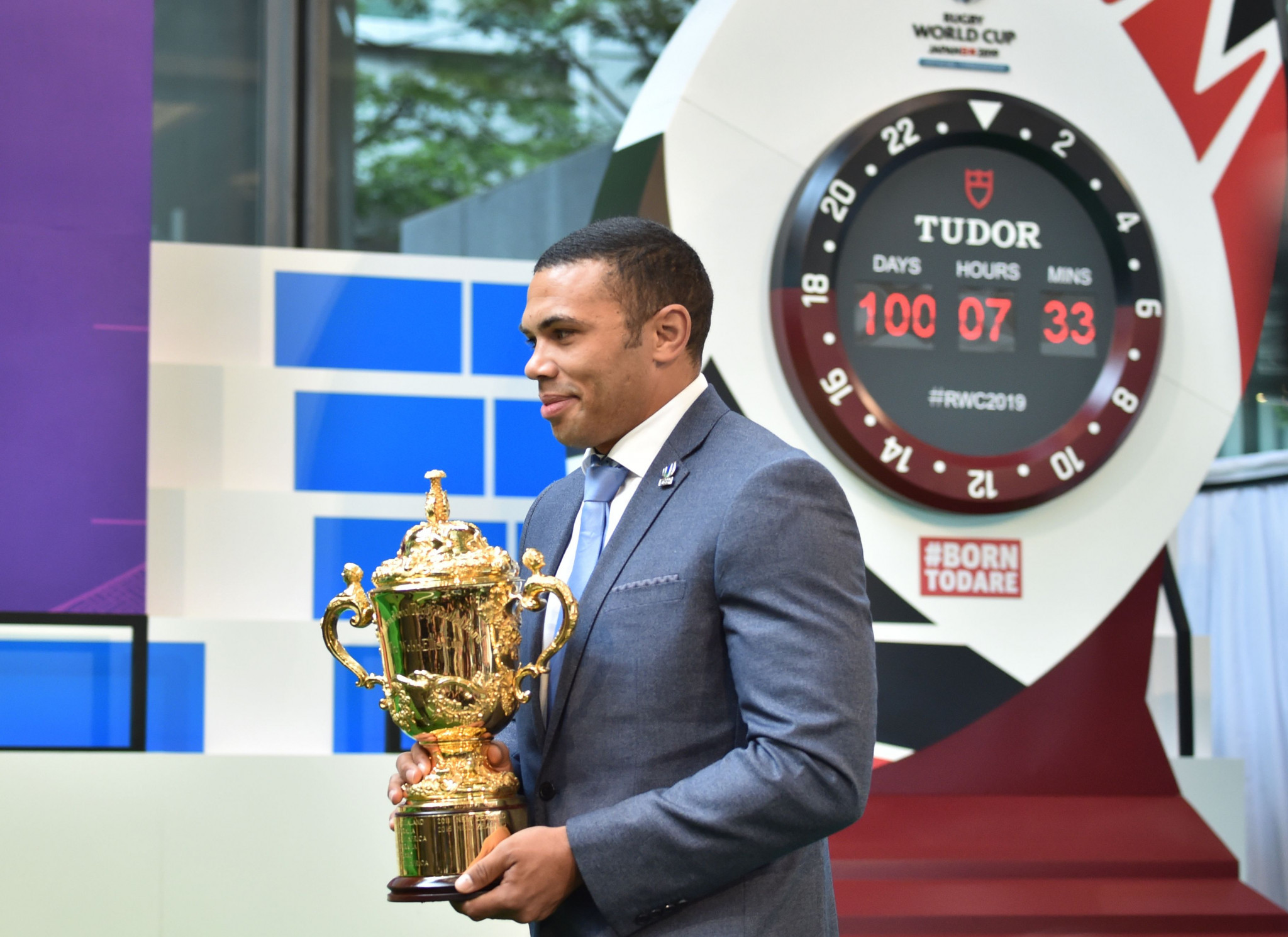 The Webb Ellis Cup has embarked on a 100-day tour of the country and will visit all 12 host cities ©Getty Images
