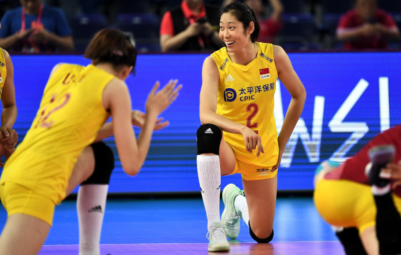 China crushed Turkey in a battle of two of the top teams in the International Volleyball Federation Women's Nations League ©FIVB/Twitter