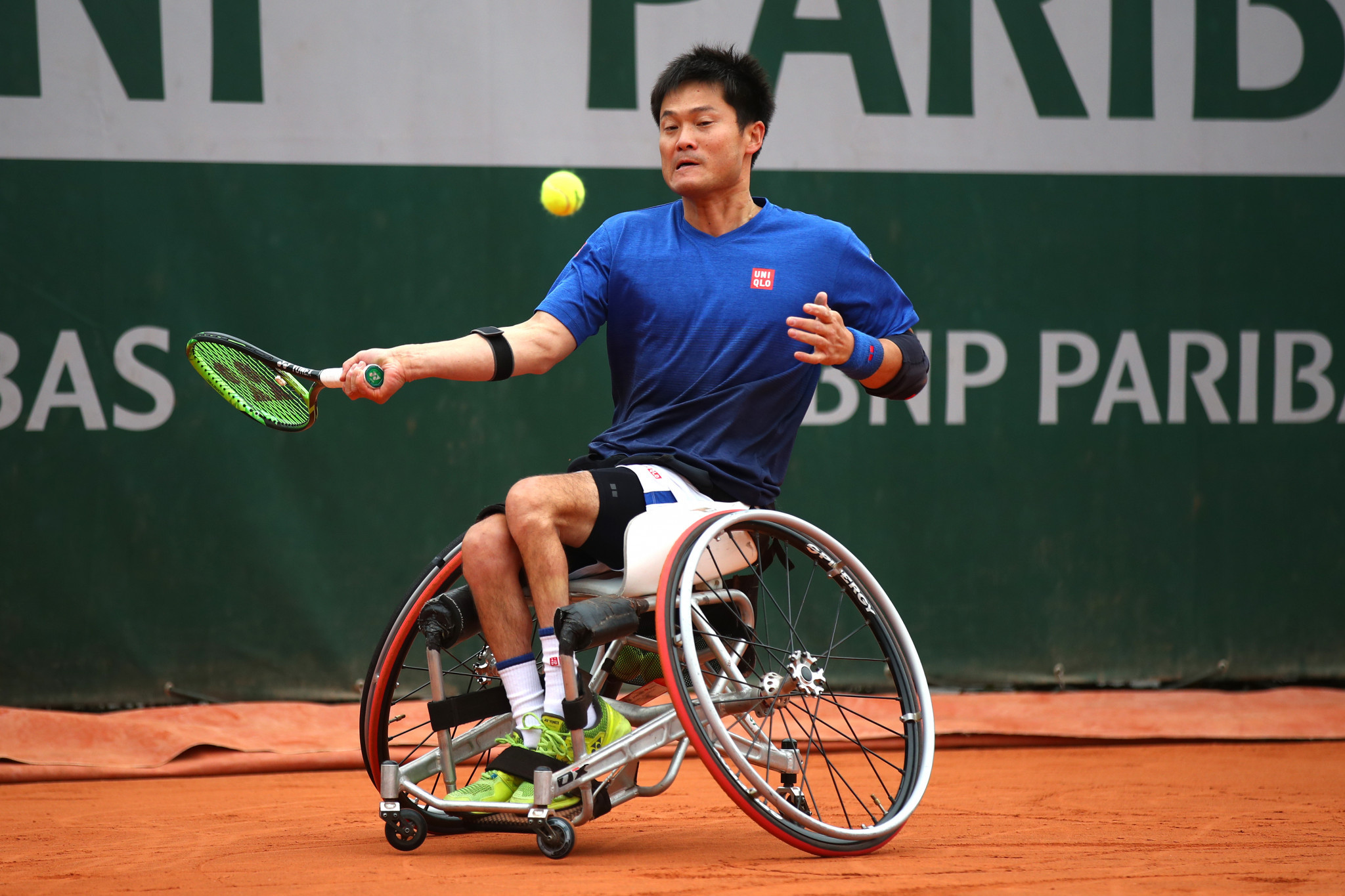 Top seed Kunieda makes impressive start to campaign at BNP Paribas Open de France