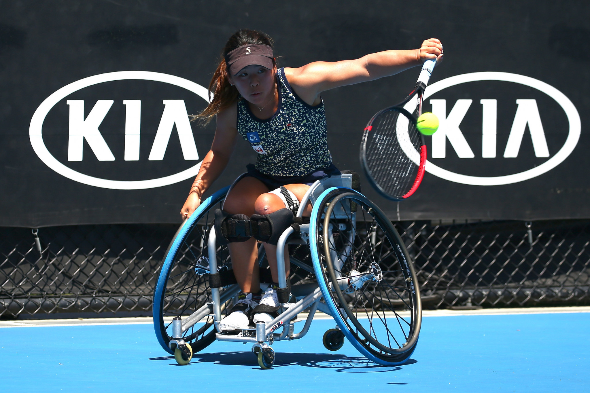 Second seed Yui Kamiji of Japan is through to the quarter-finals of the women's singles ©Getty Images