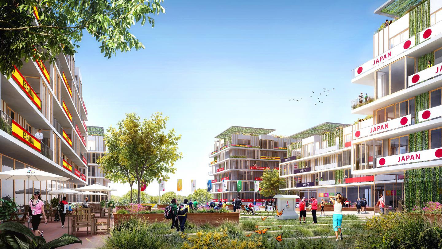The Athletes' Village for the 2024 Games will be situated in Saint-Ouen, a commune in the Seine-Saint-Denis department in Paris ©Paris 2024