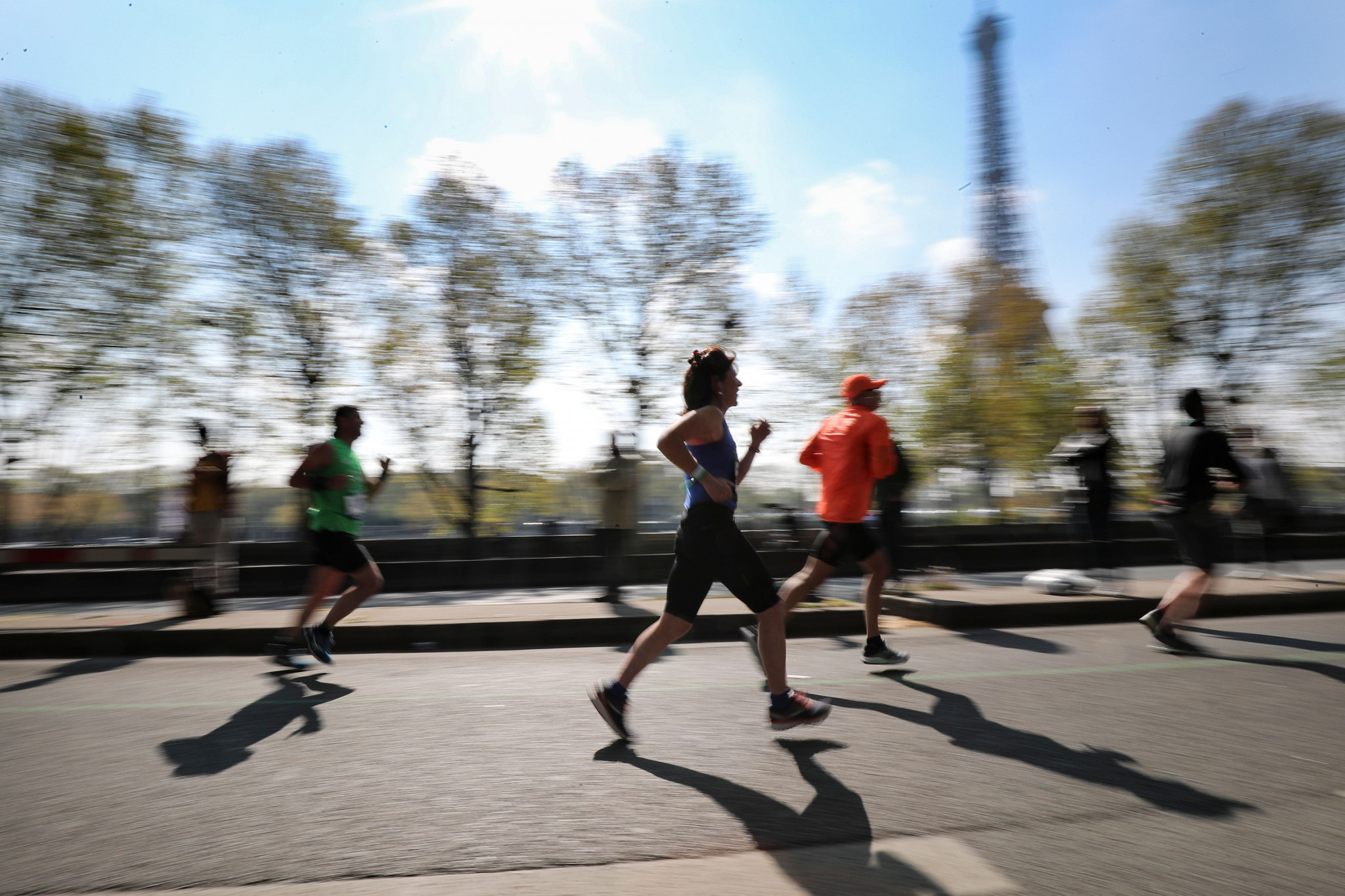 Mass participation events are planned for Paris 2024 to engage the French population with the Games ©Getty Images