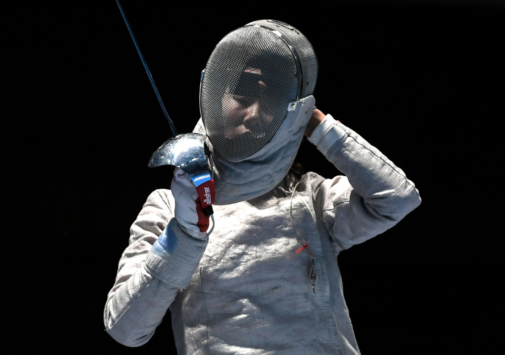 South Korea's London 2012 Olympic champion Kim Ji-yeon is defending her title in the women's sabre at the Asian Fencing Championships ©Getty Images