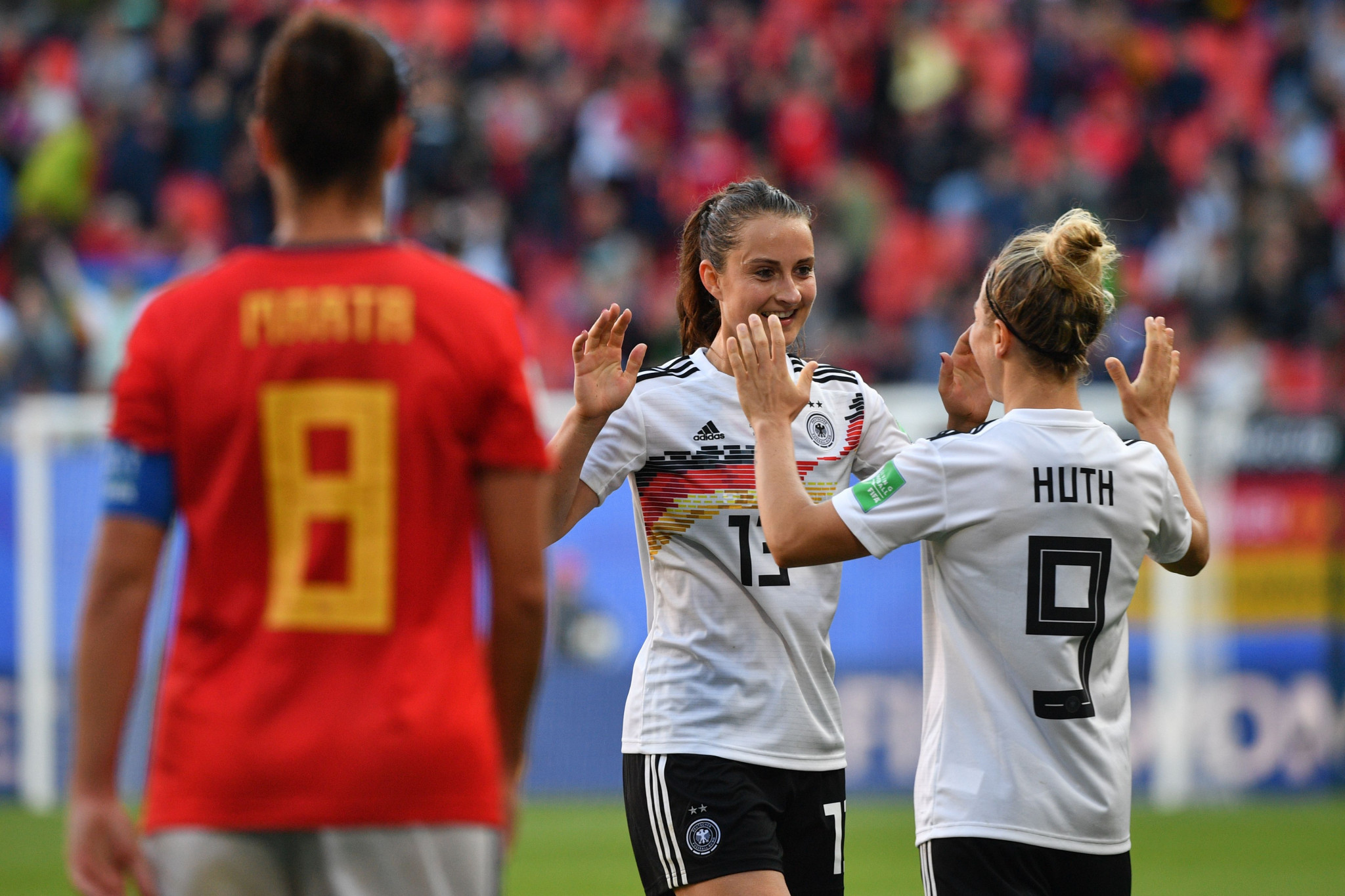 Two-times winners Germany edge past Spain at FIFA Women's World Cup