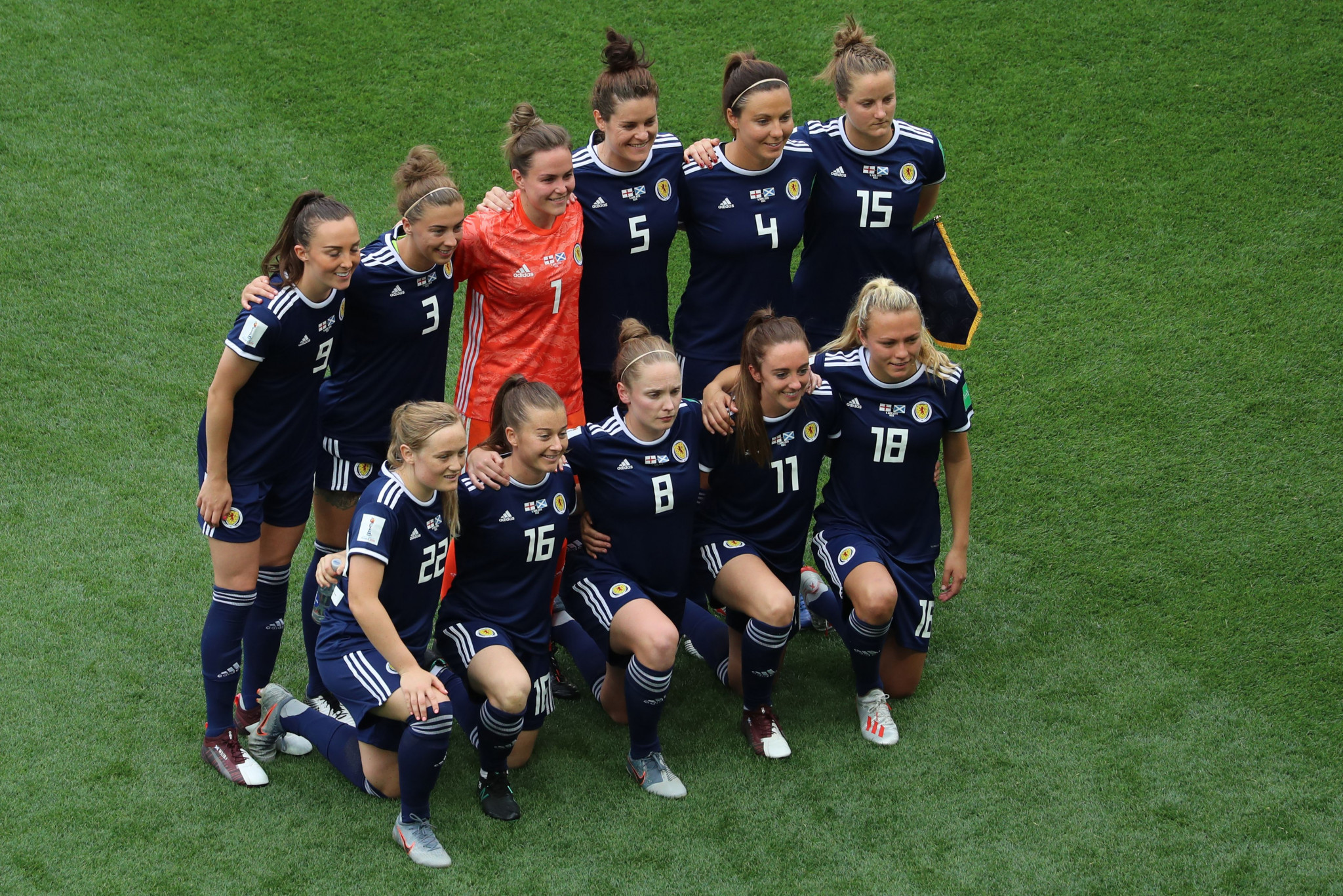 Three more matches will take place tomorrow, including Scotland against Japan ©Getty Images