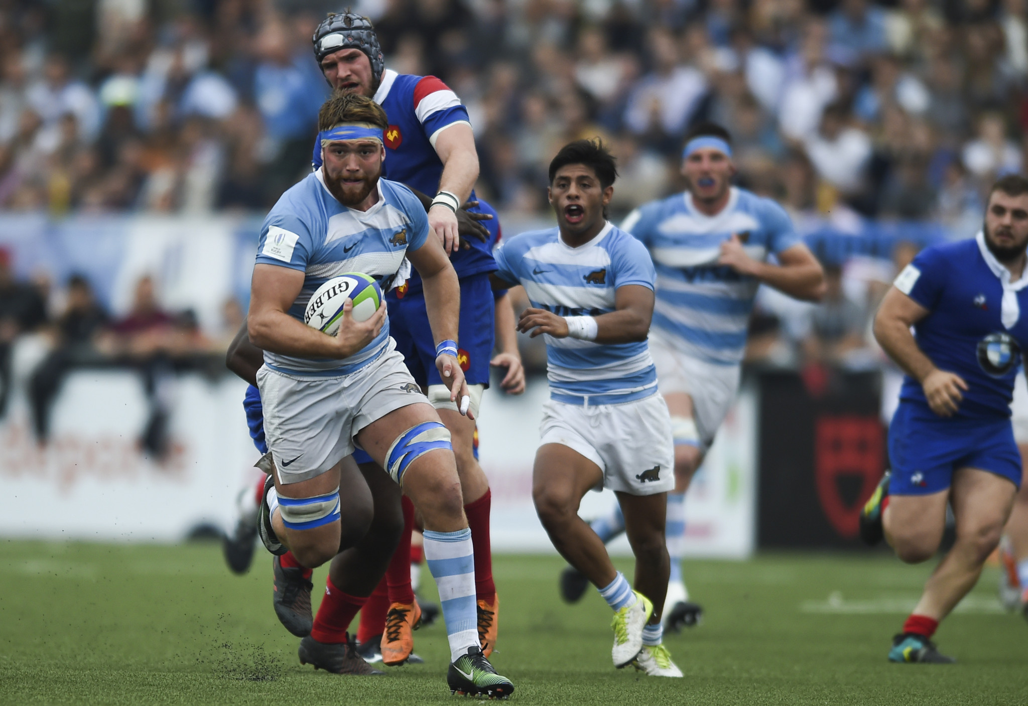 Hosts Argentina storm past holders France as semi-finalists decided at World Rugby Under-20 Championship