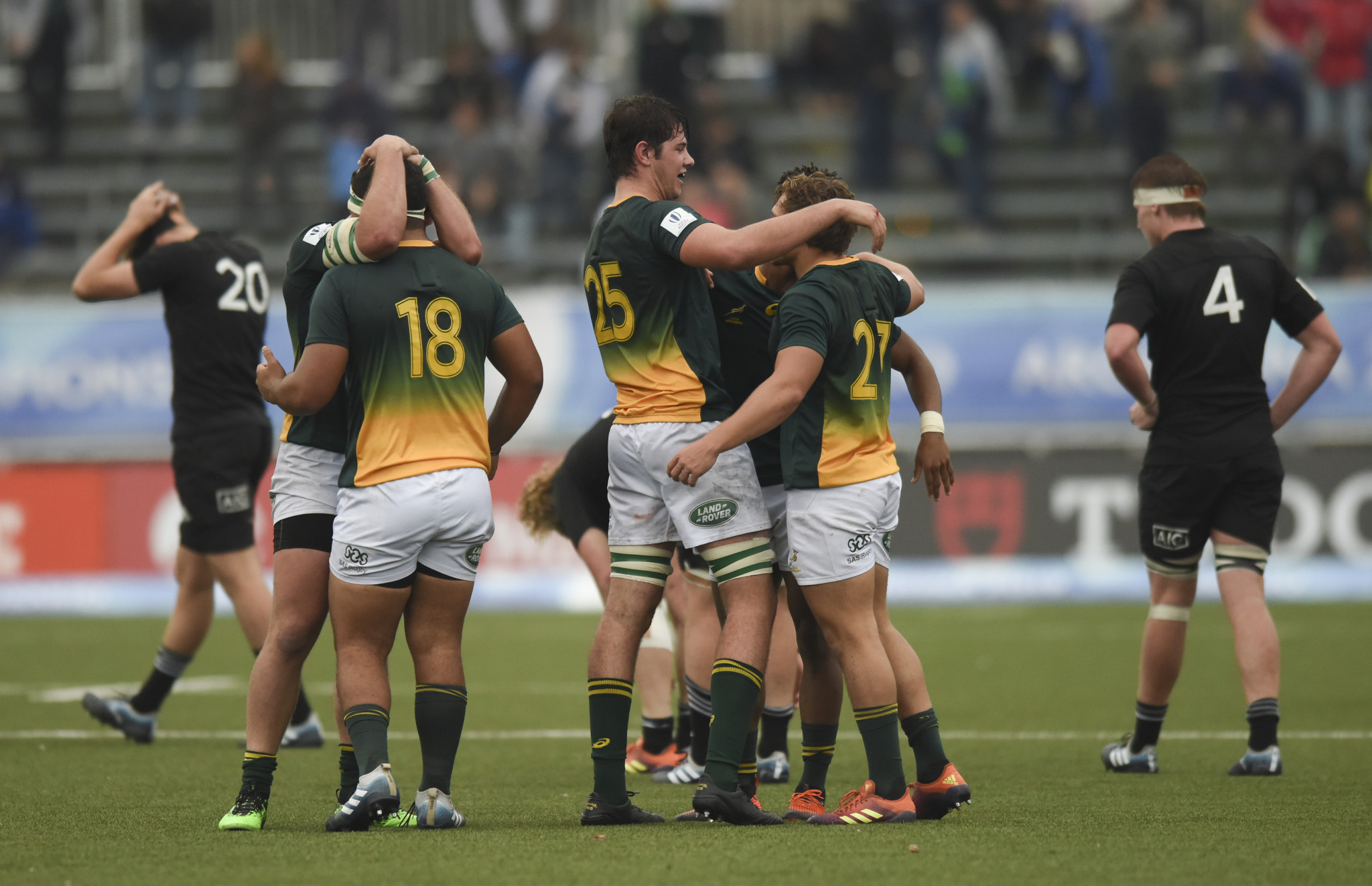 South Africa defeated New Zealand to win their pool as the Kiwis were knocked out ©Getty Images