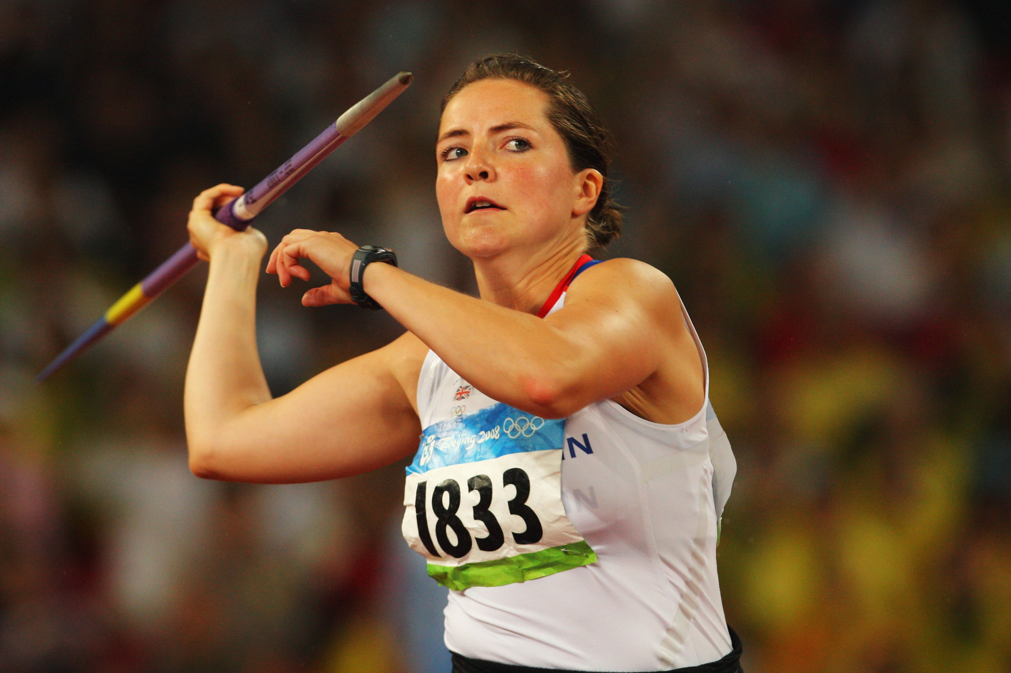 British javelin thrower to receive Beijing 2008 bronze medal at Anniversary Games in London