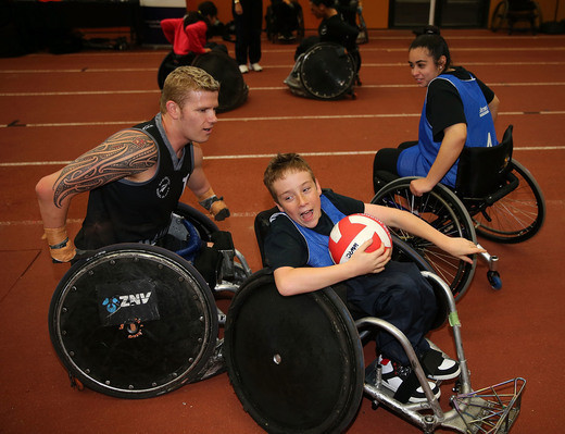 Paralympics New Zealand has announced a new programme to help young people get into para sport ©PNZ