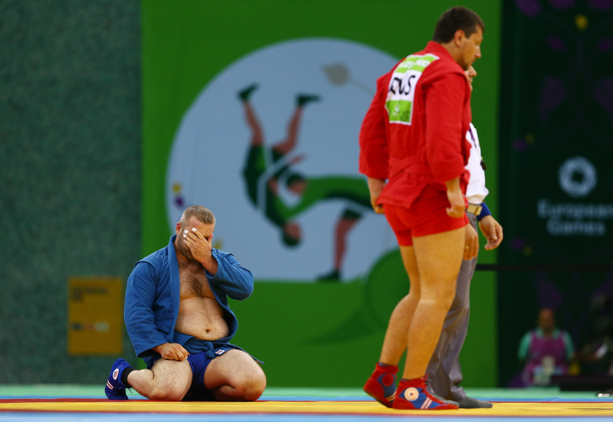 Sambo world champion to carry Russian flag at European Games Opening Ceremony in Minsk