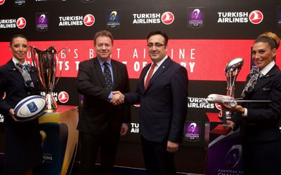 Turkish Airlines announced as official partner of European Rugby Champions Cup and Challenge Cup