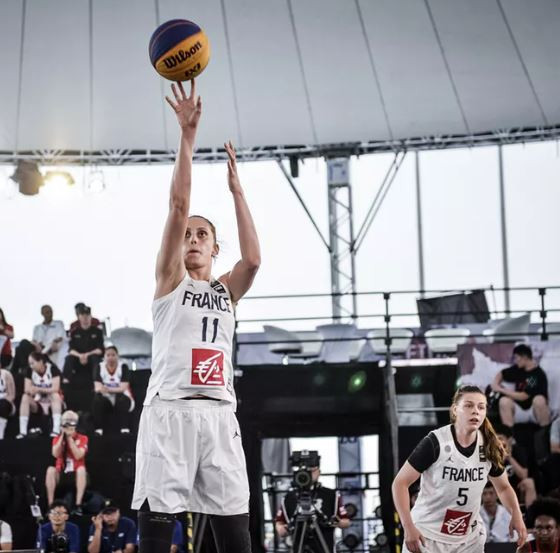 France were knocked out of the inaugural International Basketball Federation 3x3 Women's Series opener in the quarter-finals in Chengdu, China ©FIBA