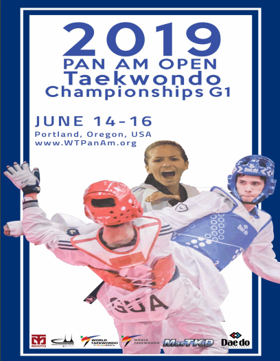 The 2019 Pan American Open Taekwondo Championships are set to begin tomorrow in Portland in the United States ©World Taekwondo