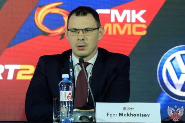 Egor Mekhontsev claims the World Boxing Forum takes Russian boxing to a new level of popularity ©RBF