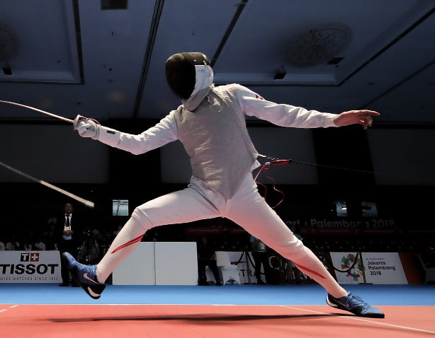 Shikine wins home gold for Japan as Asian Fencing Championships begin