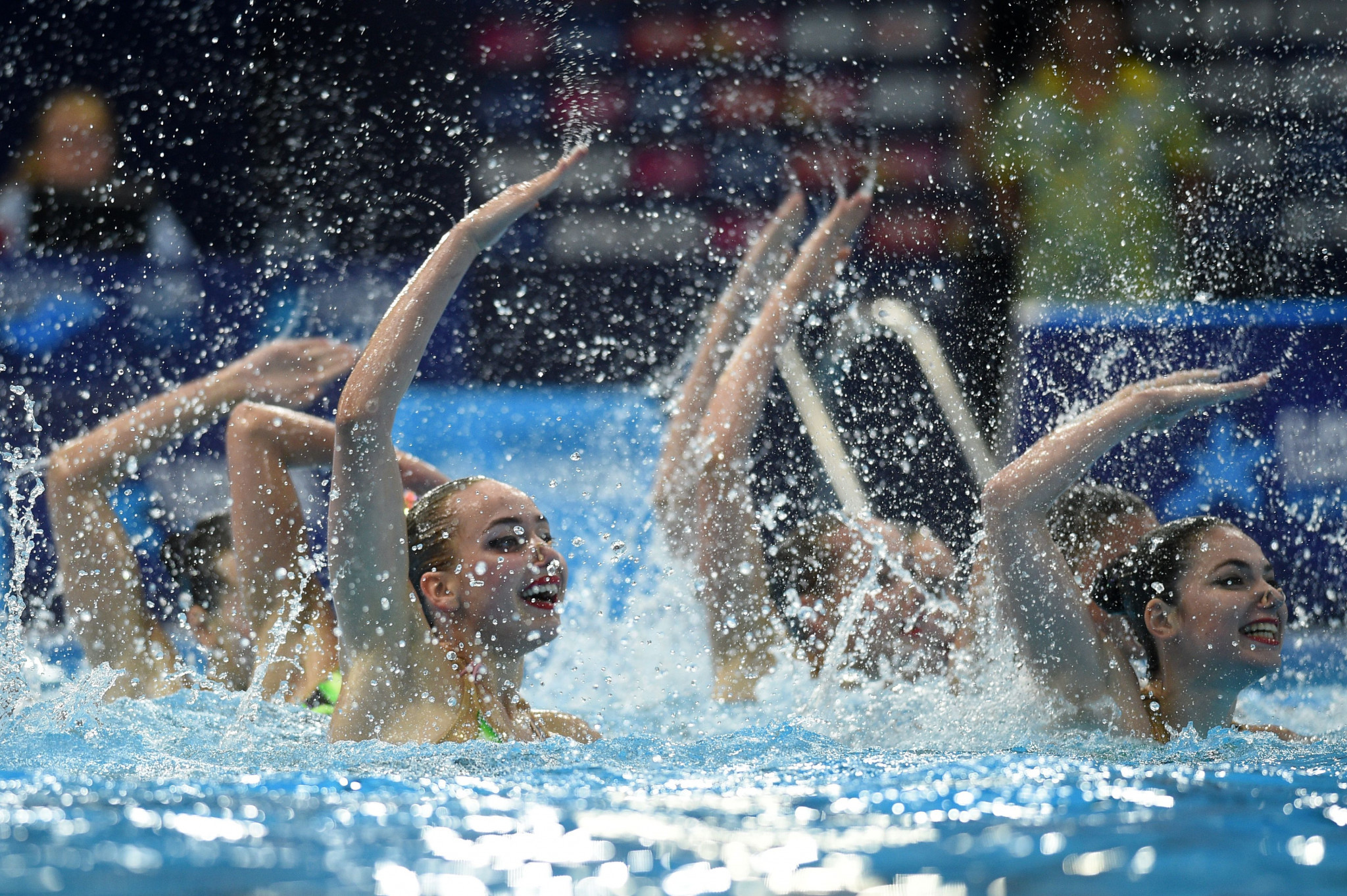 Ukraine will be hoping to finish the season with several golds at the International Swimming Federation Artistic Swimming World Series Super Final in Budapest, Hungary ©Getty Images