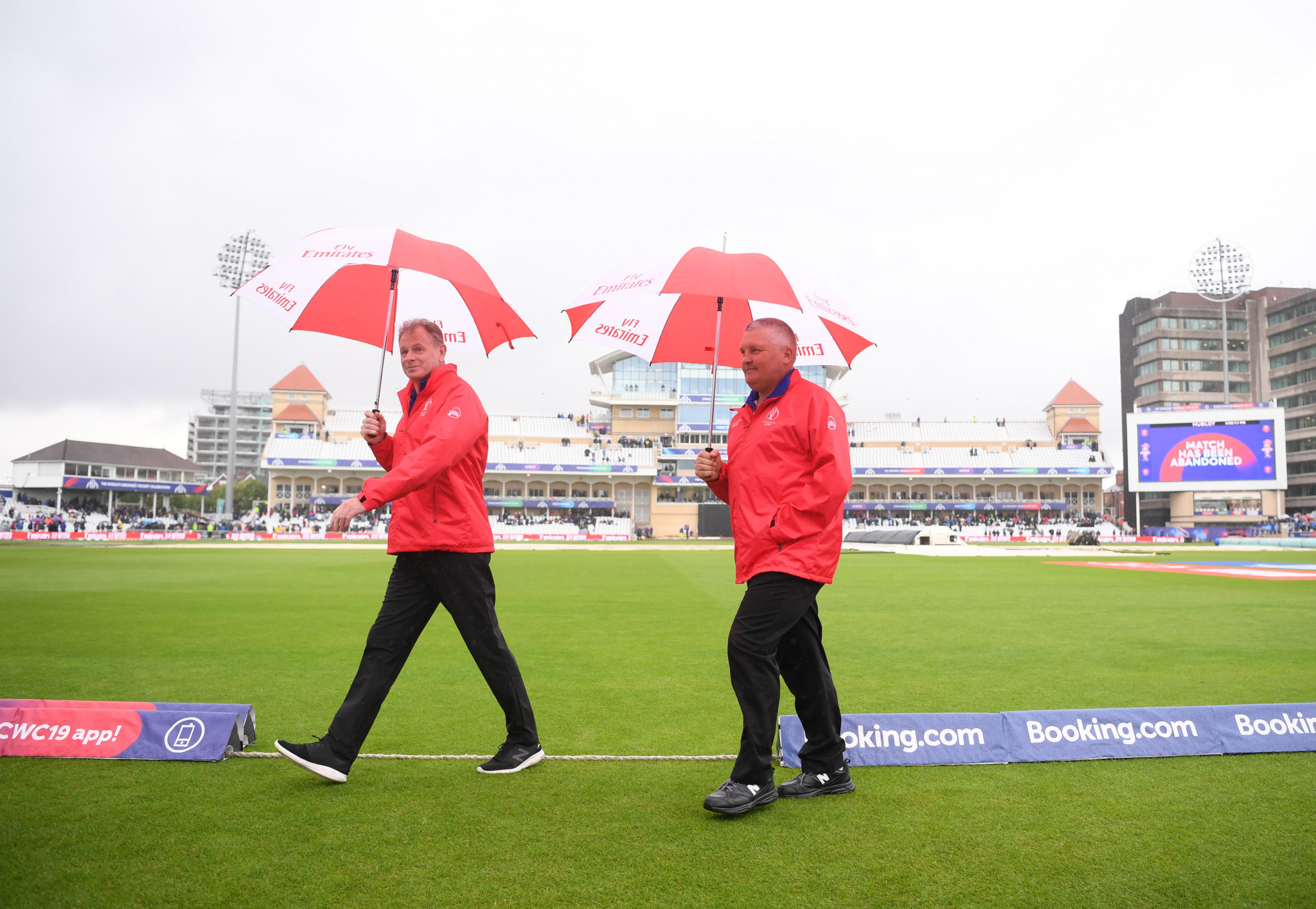 India's clash with New Zealand rained off as ICC Cricket World Cup suffers fourth call-off