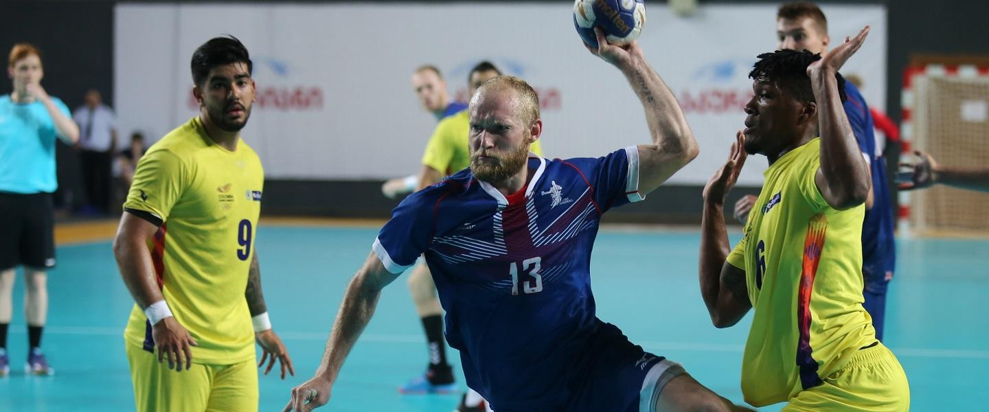 Britain claimed the final semi-final spot at the International Handball Federation Emerging Nations Championship ©IHF