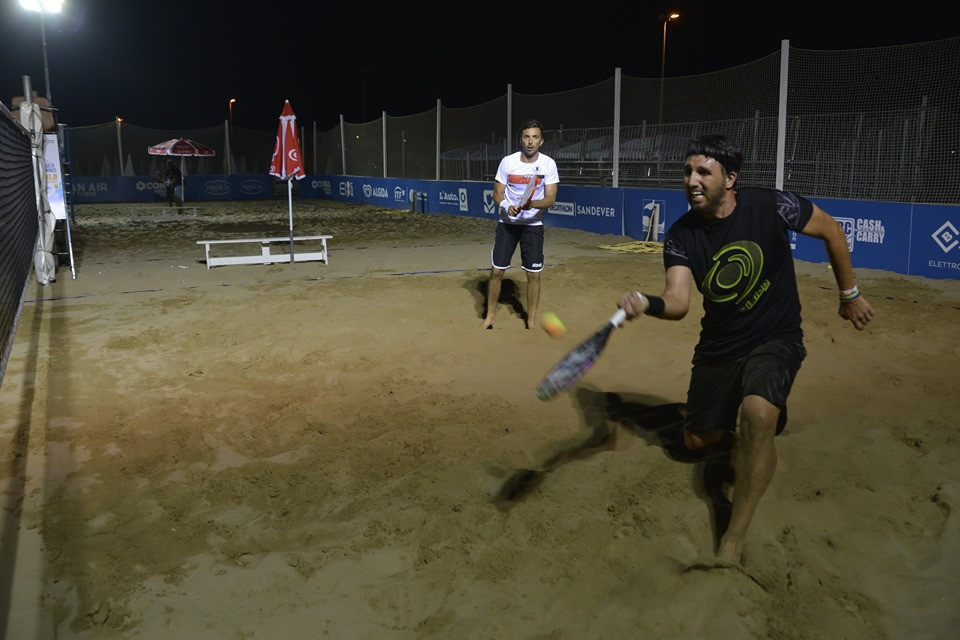 The action continues in the Beach Tennis World Championships ©Facebook