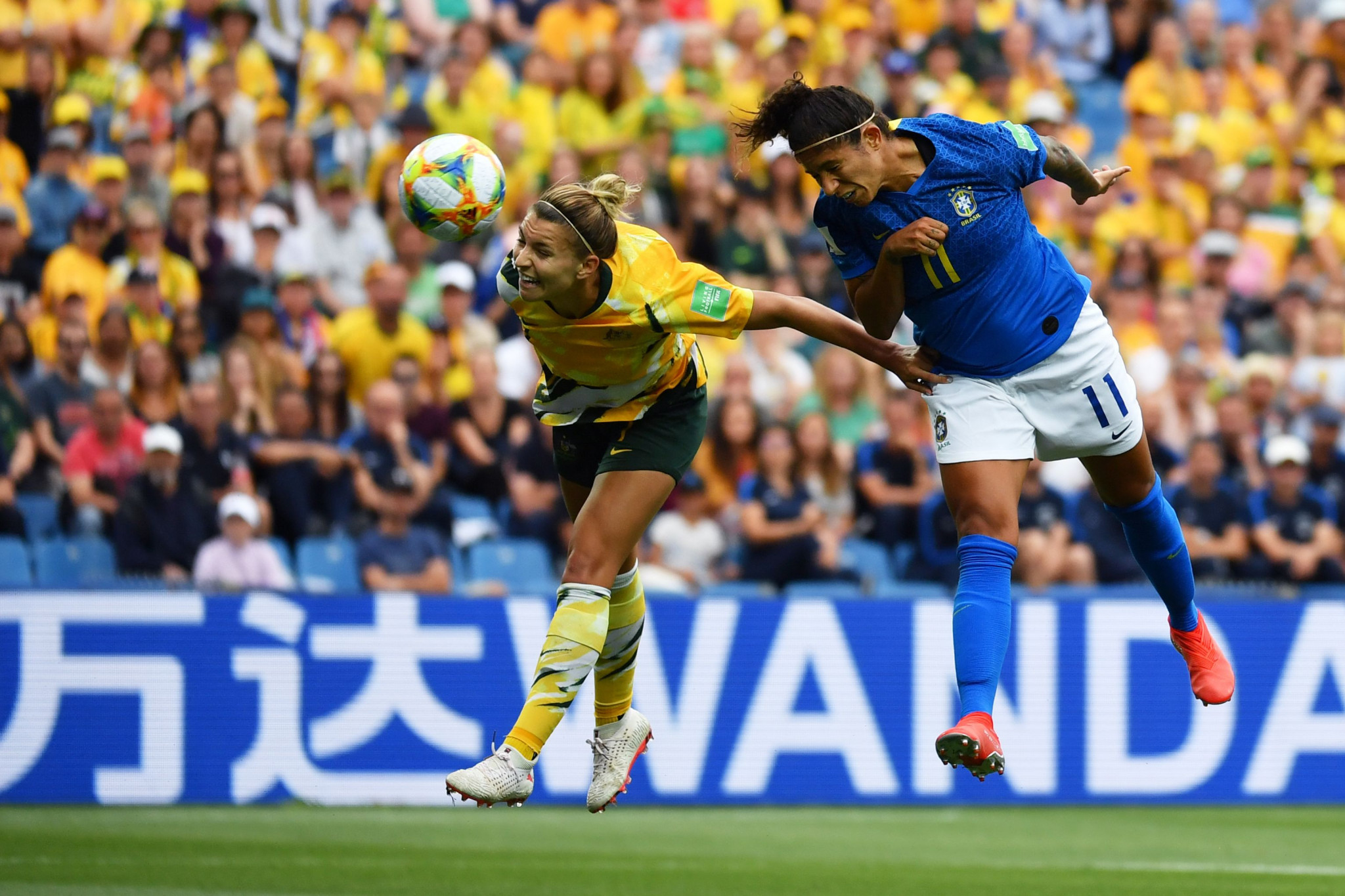 Cristiane doubled the lead seven minutes before halftime ©Getty Images