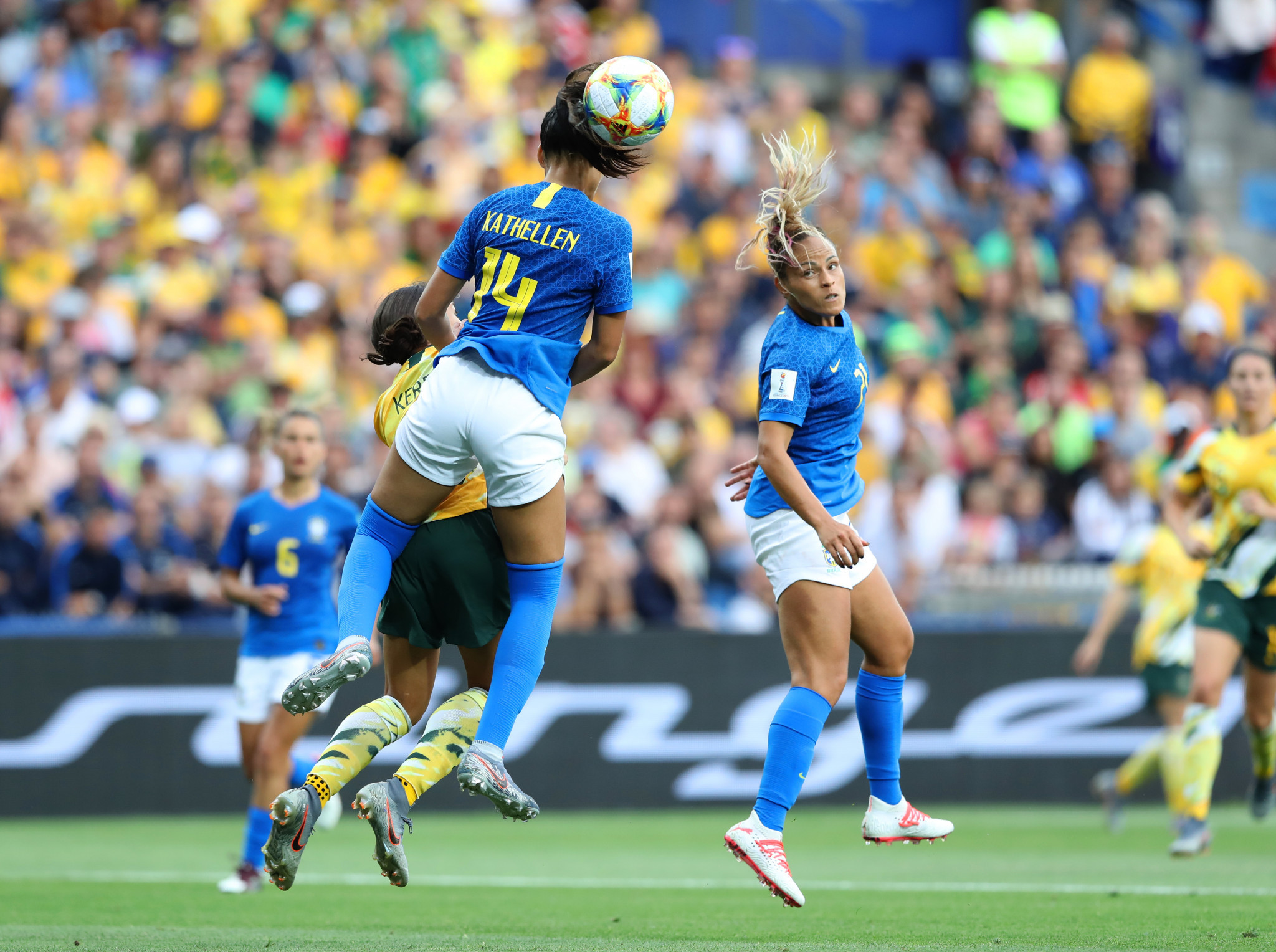And Monica's own goal handed Australia a famous comeback victory ©Getty Images