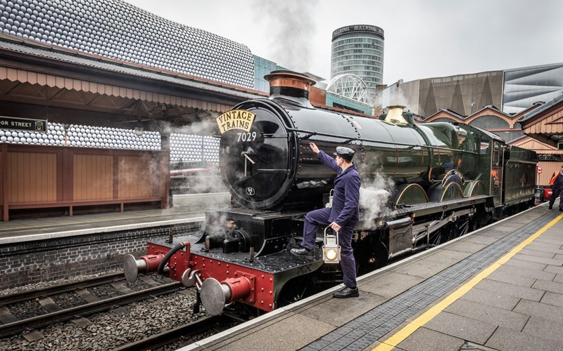Vintage steam trains set to be introduced in Birmingham in time for 2022 Commonwealth Games