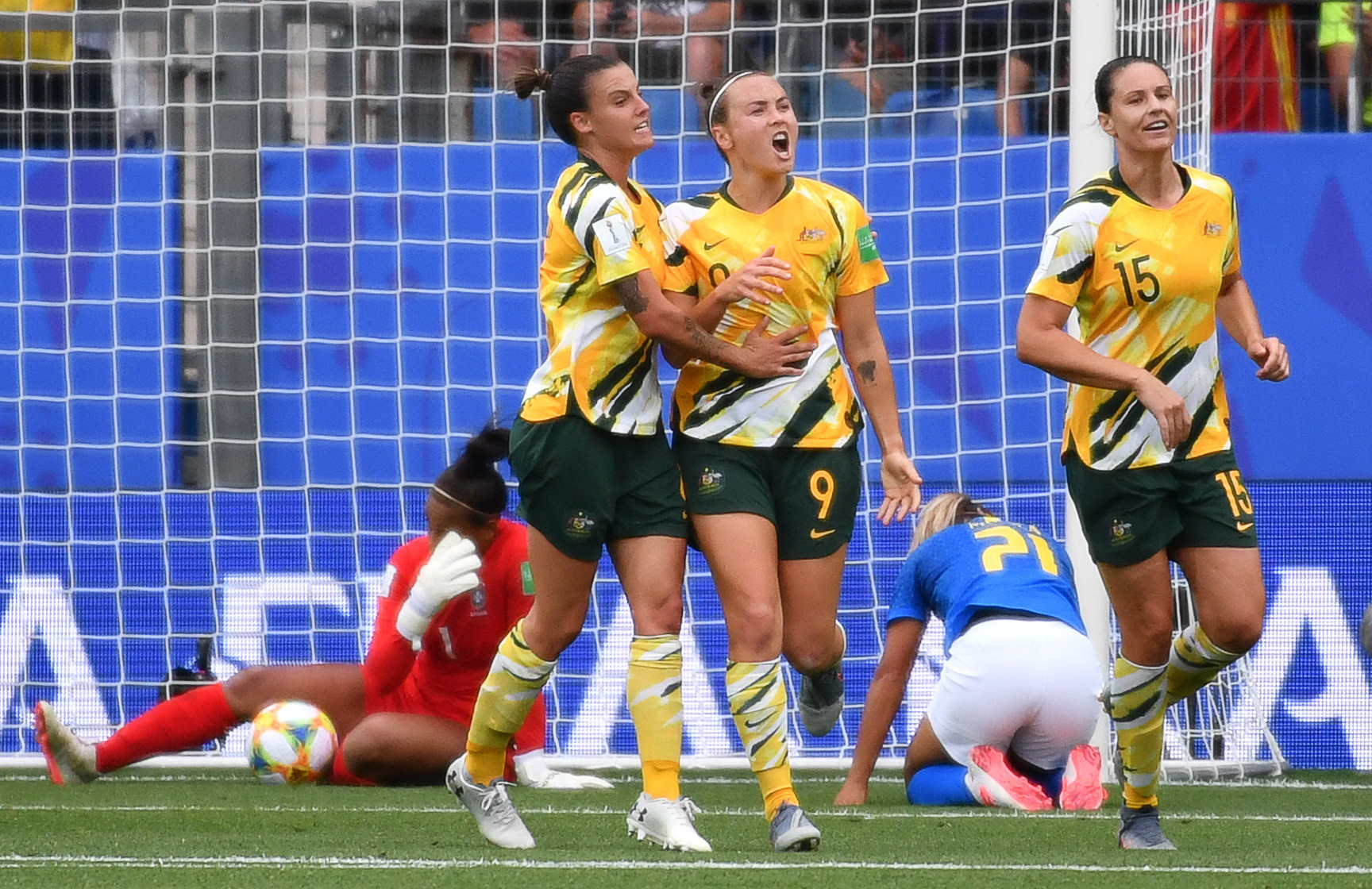 Australia stun Brazil with stirring fightback at FIFA Women's World Cup