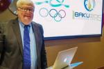 Ireland's Chef de Mission Dermot Henihan is confident Baku 2015 will be a great success ©OCI